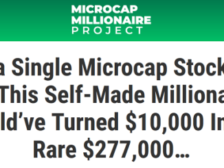 Matt McCall's Microcap Millionaire Project Review