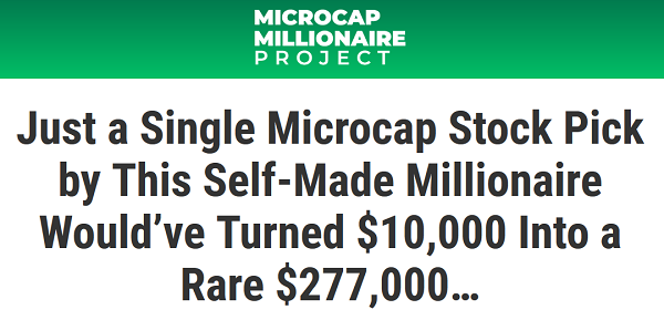 Matt McCall's Microcap Millionaire Project Review