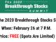 2020 Breakthrough Stocks Summit