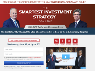 Bill O'Reilly Smartest Investment Strategy