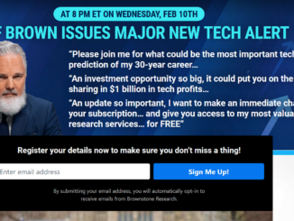 Is Jeff Brown's Investment Accelerator Event Legit?