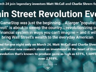 The Main Street Revolution Event