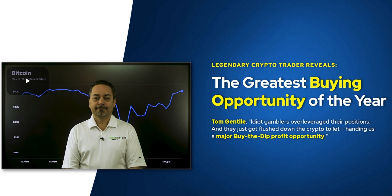 Tom Gentile's 3 Profit Multiplier Trades for 20X More Money than Bitcoin