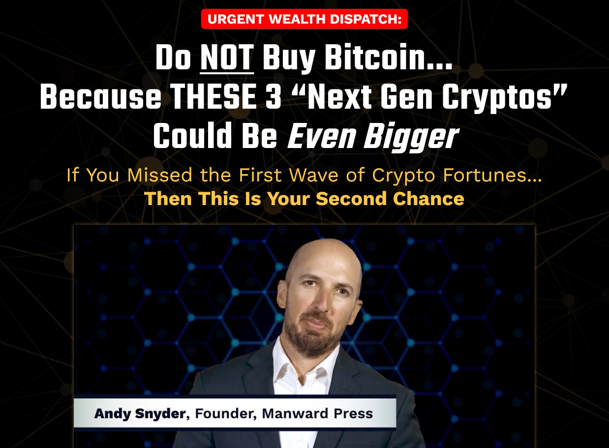 Andy Snyder Crypto Profit Package Review