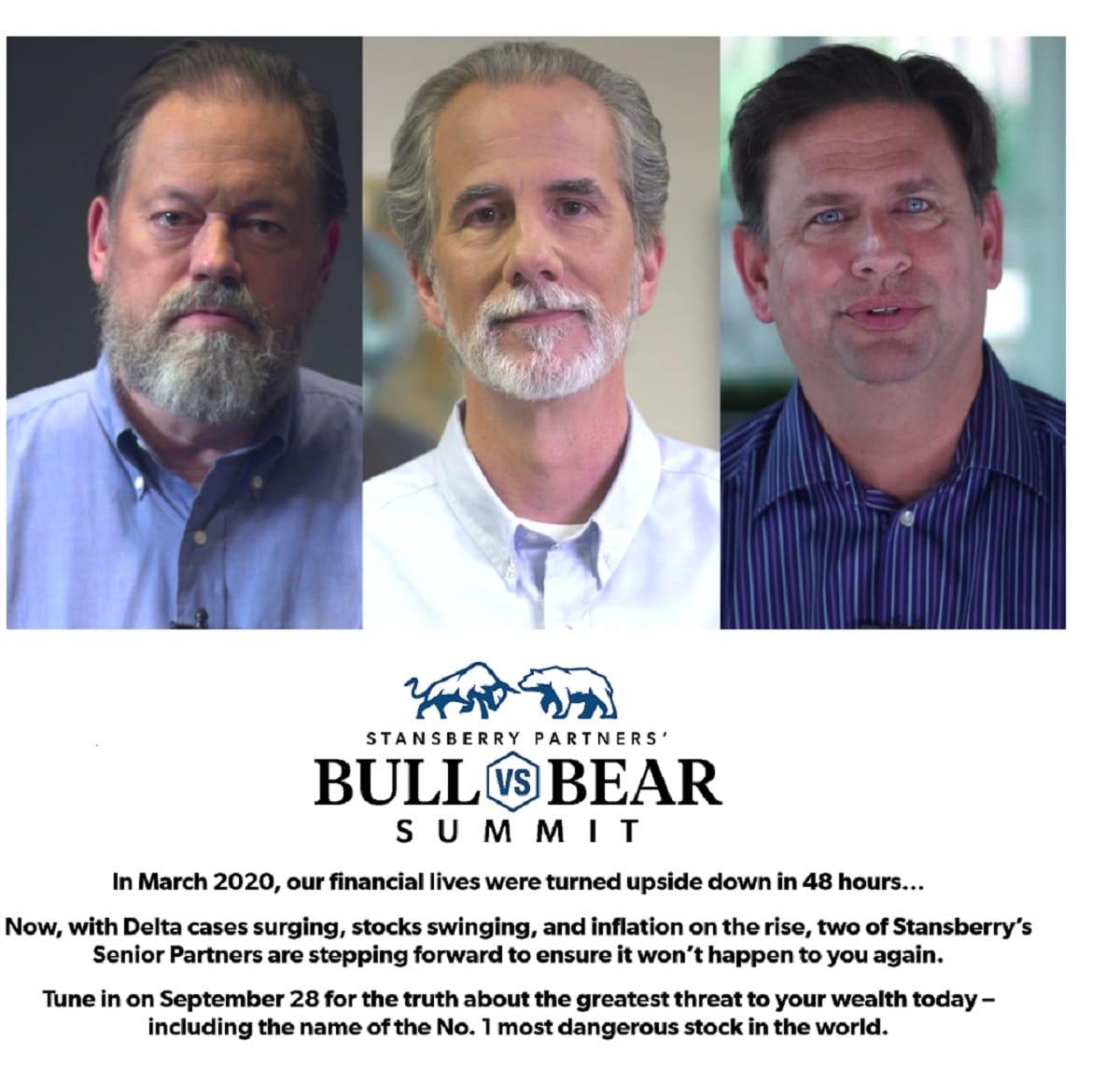 Stansberry Partners Bull vs. Bear Summit