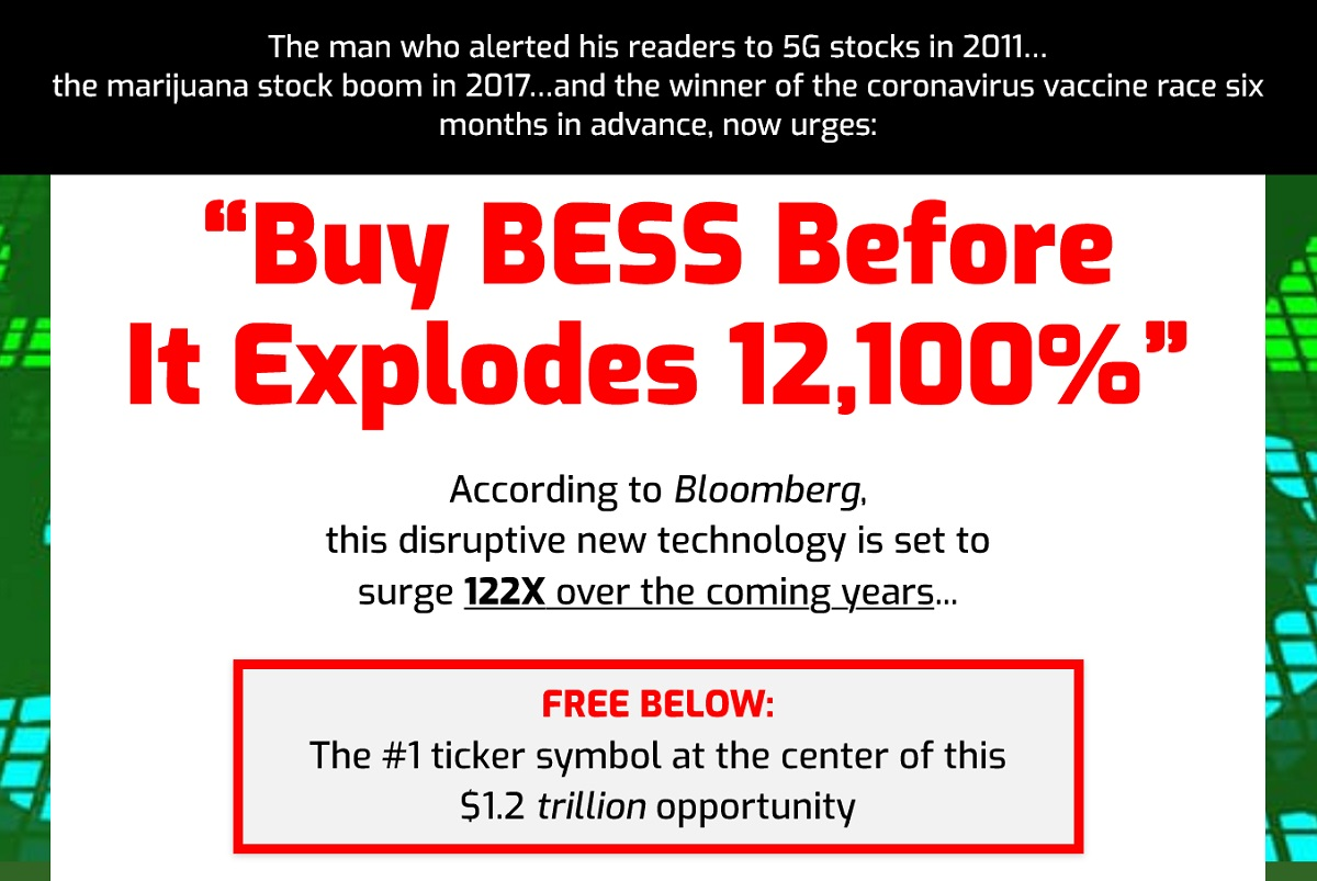 Ray Blanco BESS Investment